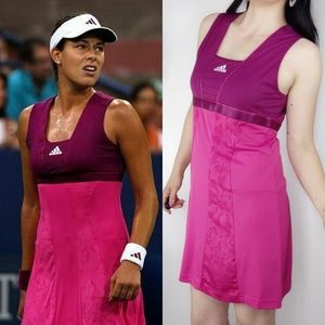 Adidas Ana Ivanovic Fuchsia Pink Tennis dress 0700